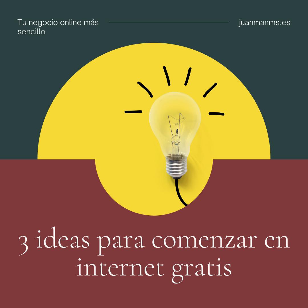 3 ideas gratis